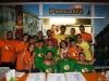 Il gruppo di giovani che ha collaborato a rendere la Festa d'Autunno un gran successo